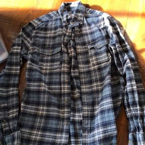 Men's Merona plaid flannel shirt